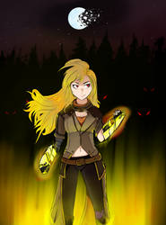 Yang Xiao Long (RWBY) by CynicallyDead