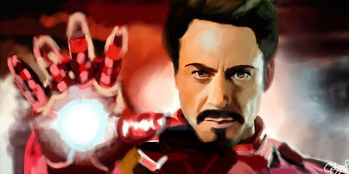 Iron man by Cidgaf