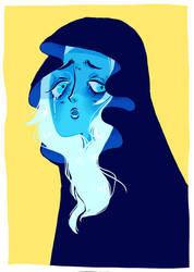 Blue Diamond (Steven Universe) by EffiPampelmuse