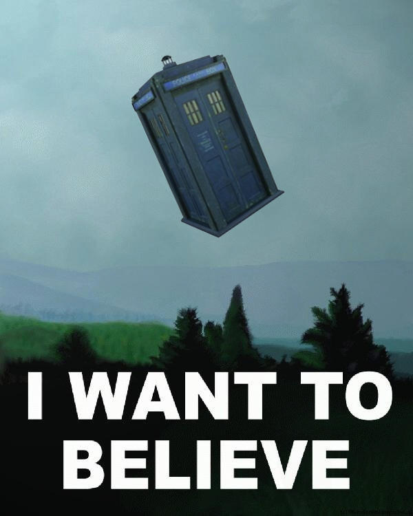 I Want To Believe, Really
