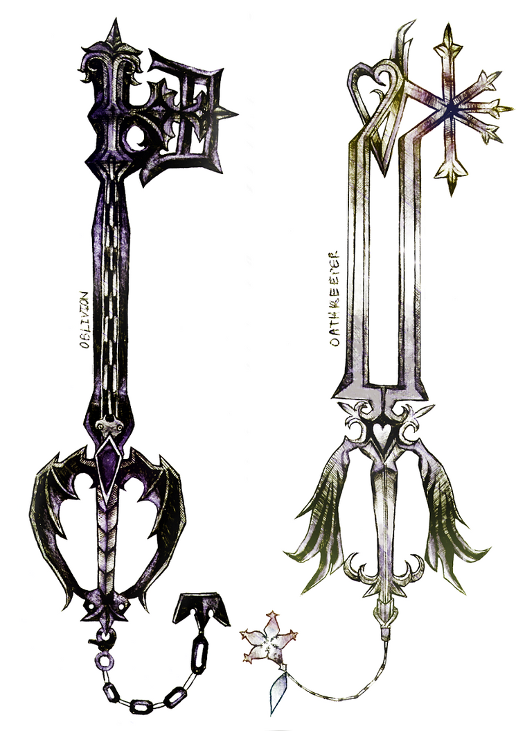 Oblivion and Oathkeeper by Lucky6Manga on DeviantArt