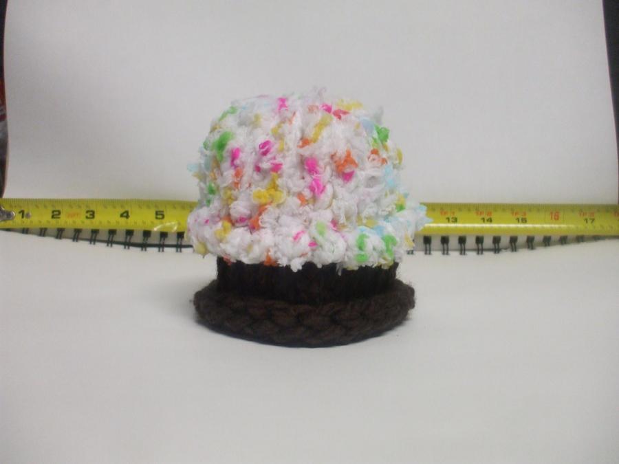 Mini Funfetti Cupcake Hat by LaughingAndroid