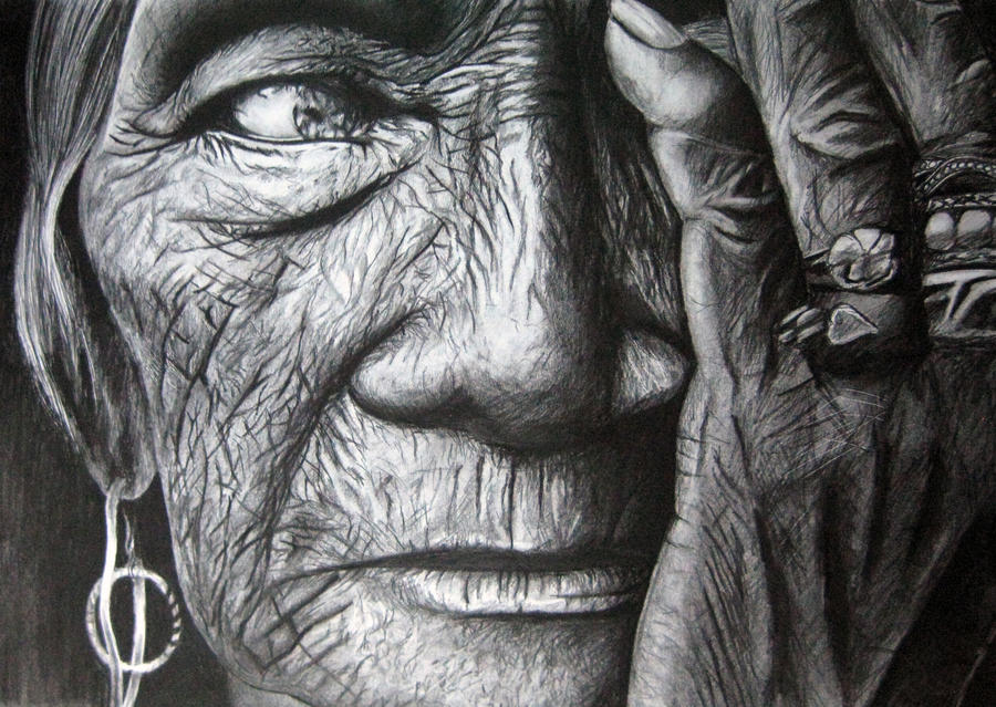 Old Woman by moni-kaa5