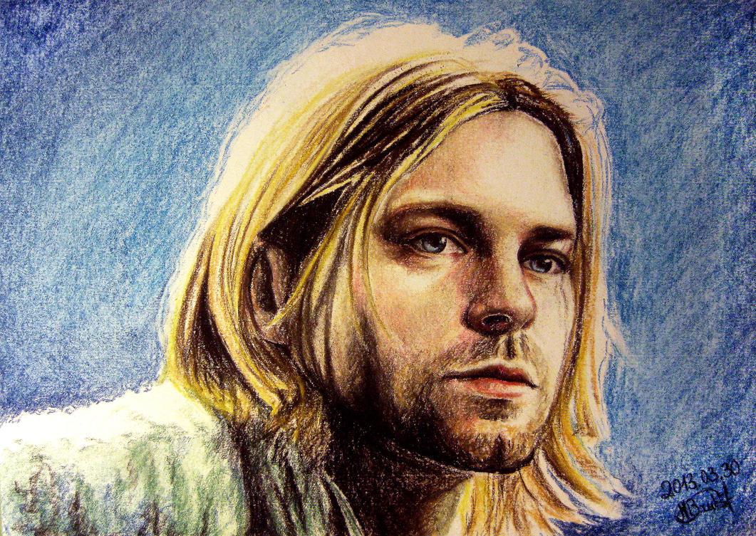 Kurt Cobain by moni-kaa5