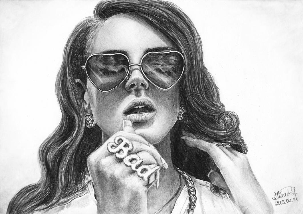Lana Del Rey by moni-kaa5 on DeviantArt