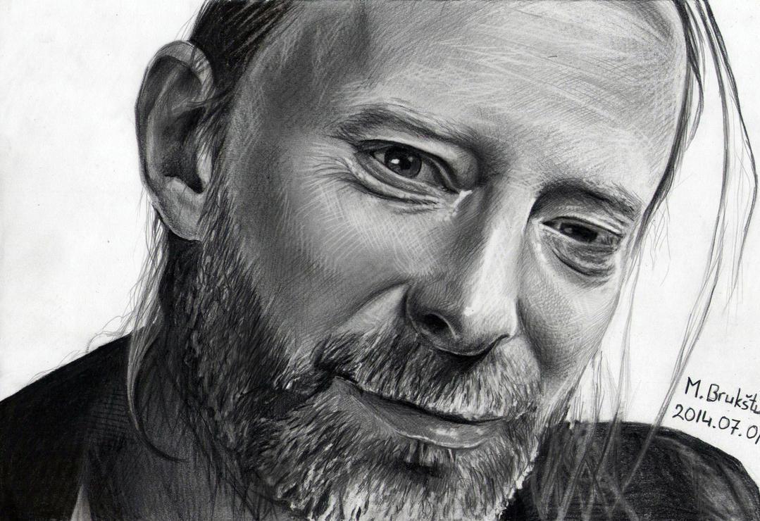 Thom Yorke by moni-kaa5