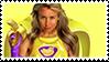 Freelee The Banana Girl Stamp! by angryfroggirl