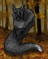 Fall/Halloween FoxTail
