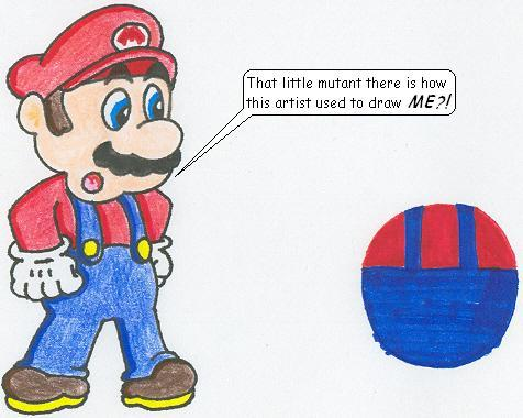 I Used To Draw Mario This Way by nintendomaximus on DeviantArt