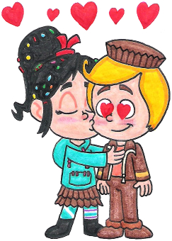 ralph and vanellope relationship poems