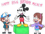 Mickey's 85th Birthday Picture
