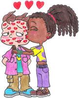 Susie Loves Kissing Phil by nintendomaximus