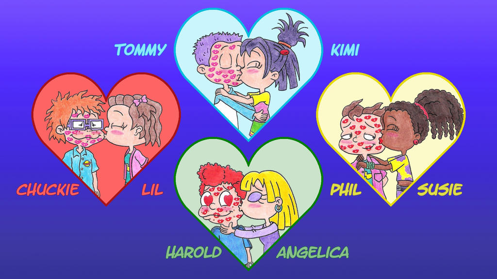 Rugrats All Grown Up Kisses Wallpaper by nintendomaximus ...