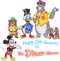 The Disney Afternoon's 25th Anniversary by nintendomaximus