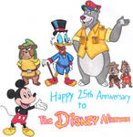 The Disney Afternoon's 25th Anniversary