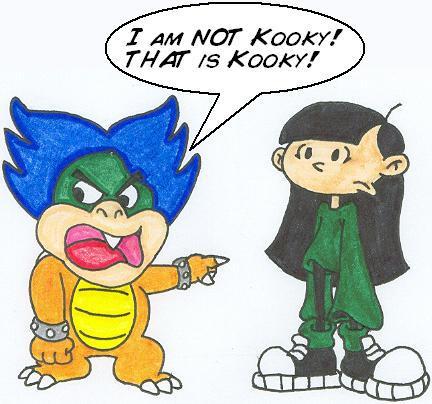 Kooky and Kuki by nintendomaximus