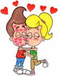 Jimmy 'n Cindy Love to Kiss