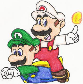 mario and luigi ride