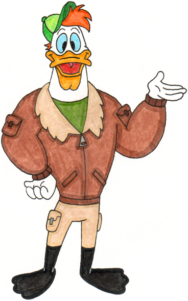 Launchpad McQuack - #87 90s Animated Characters - IGN