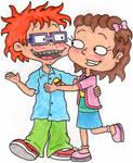 Chuckie and Lil Flirting by nintendomaximus
