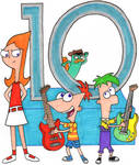 Phineas and Ferb's 10th Anniversary Concert