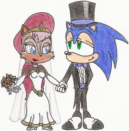 Sonic and Sally's Wedding Day by nintendomaximus on DeviantArtAmy And Sonic Wedding