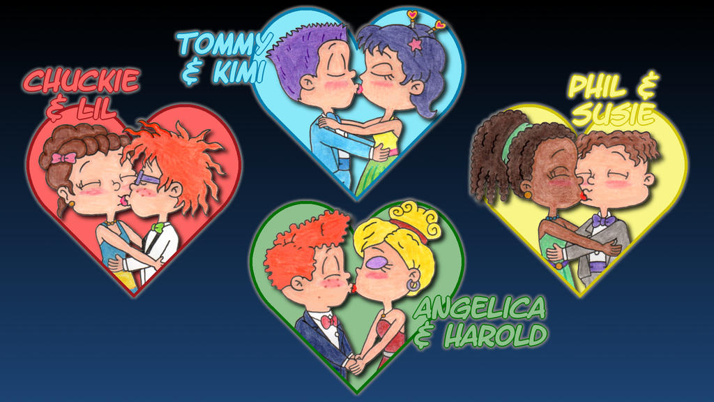 Rugrats All Grown Up Formal Kisses Wallpaper by ...