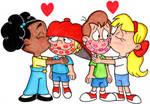 The Kid Chorus' Kissing Couples by nintendomaximus