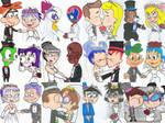 Cartoon Weddings Are Nice
