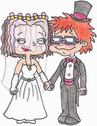 Chuckie and Lil's Wedding Fantasy by nintendomaximus