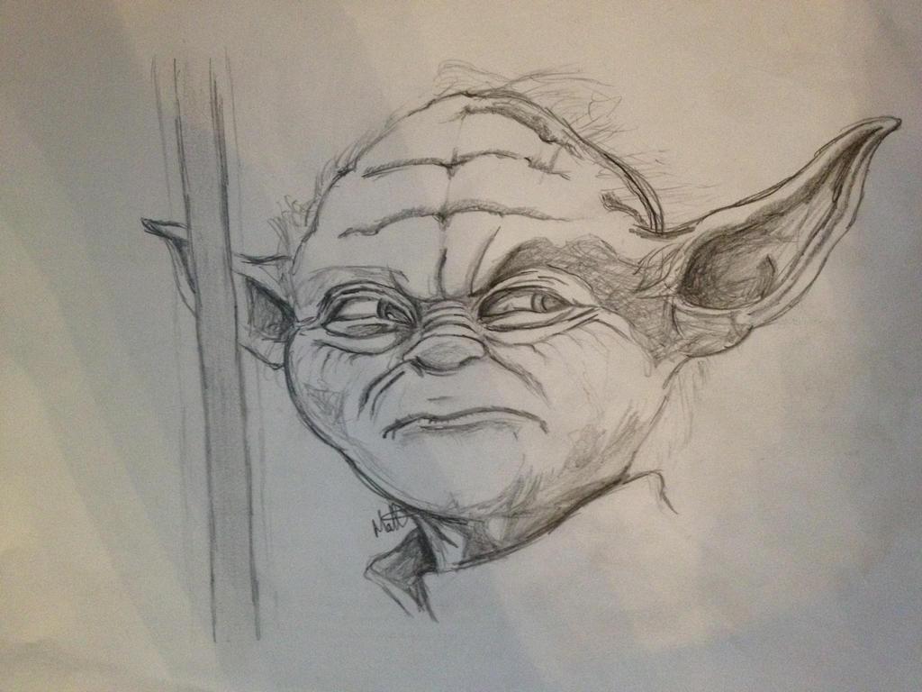 Yoda sketch by MattyH85
