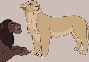 TLK: Mulish old Lioness! by Winterfell-KP