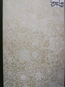 Front cover flower doodles