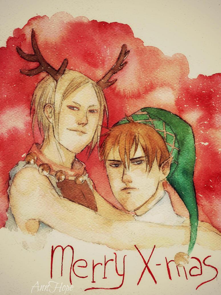 19 days, Merry X-Mas by Ann-95