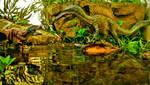 Sobek v Apophis by zoome3
