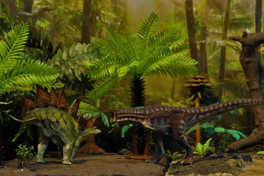 Stegosaurus armatus vs Carnotaurus