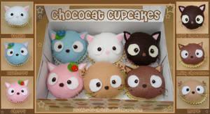 Chococat Cupcake Plushies