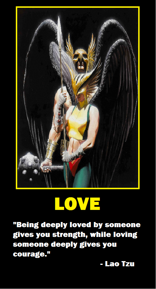 hawkgirl and hawkman relationship poems