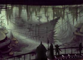 Ghost Ship by Sainez