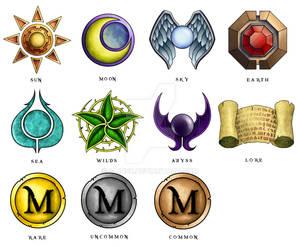 Card Game Symbols