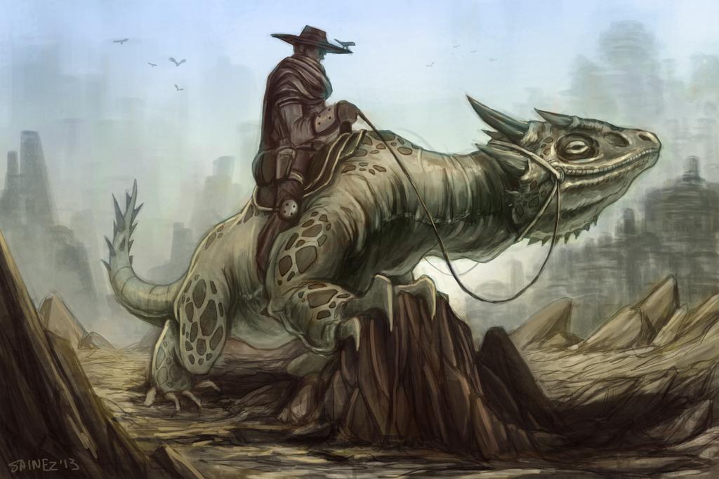 The Nomad by Sainez