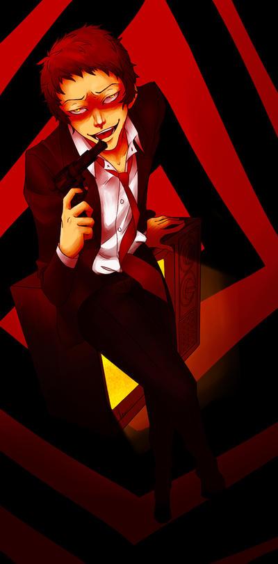 The Egocentric Police Dick: Adachi Tohru by KiraDesigns
