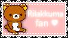 {stamp} Rilakkuma fan by breathtakinq