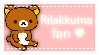 {stamp} Rilakkuma fan by breathtakinq