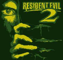 Resident Evil 2, Dreamcast to Gameboy by KimoiPhantom