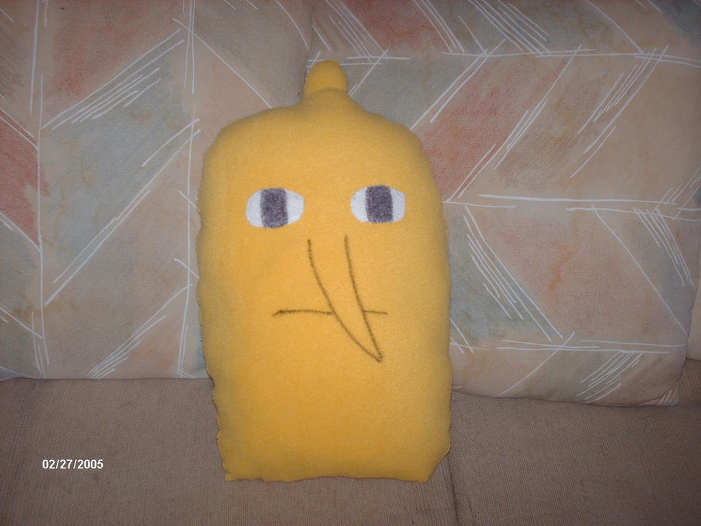 Lemongrab Pillow by PlushBuddies