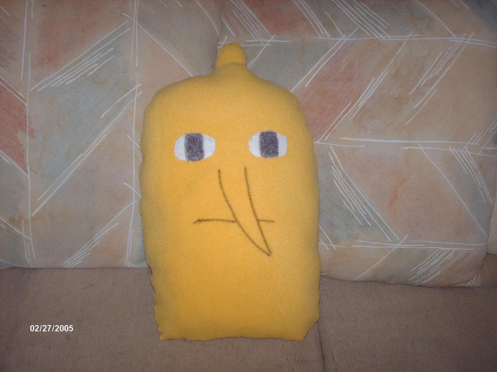 Lemongrab Pillow by PlushBuddies