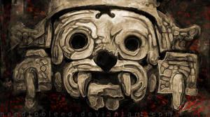 Tlaloc by Bejamin Otero by needtobleed