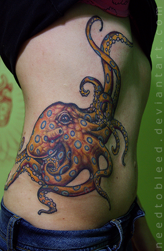 pulpo by Benjamin Otero by needtobleed