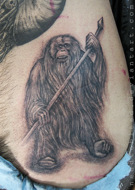 orangutan by Benjamin Otero by needtobleed